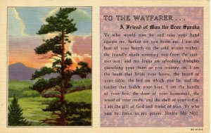 Greeting - To the Wayfarer