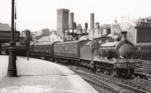 Caledonian Railway Class 0-6-0 No 17515 at Edinburgh Station Train 1970 Photo