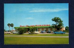 FL Bowling Alley Bowlerama PORT CHARLOTTE FLORIDA Postcard Carte Postale PC