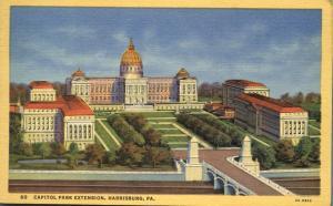 Capitol Park Extension - Harrisburg, Pennsylvania Linen