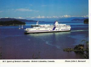 Ferry M.V. Spirit of British Columbia , B.C. , Canada , 50-70s
