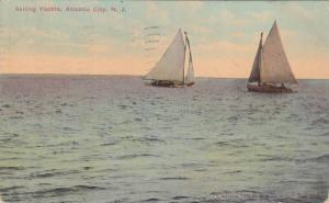 Sailing Yachts,  Atlantic City,  New Jersey,  PU_1911