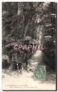 Old Postcard Bourbonne Les Bains Montmorency Park Gros Orme
