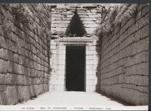 Greece Postcard - Mycenae - Agamemnon's Tomb, Near Mikines RR2025