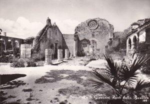 RP; SIRACUSA, Sicilia, Italy, 1930-1940s; S. Giovanni Resti Della Basilica
