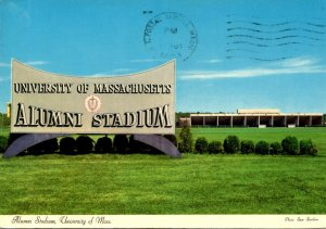 Massachusetts Amherst Alumni Stadium University Of Massachusetts 1973