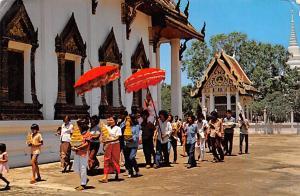 Thailand Buat Naag, Ordination ceremony of young Thai man  Ordination ceremon...