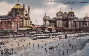 New Jersey Atlantic City Dennis Marlborough and Traymor Hotels