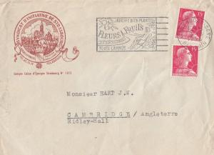 Strasbourg France Tourist Office 1950s Cover