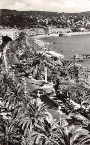 Vintage REAL PHOTO Postcard NICE, Promenade des Anglais , La Cote D'Azur #71