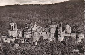 Germany Alt Heidelberg Das Heidelberger Schloss Real Photo