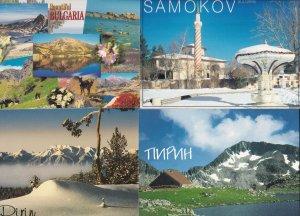 Samokov The Chadar Fountain Pirin 2x Bulgaria Postcard s