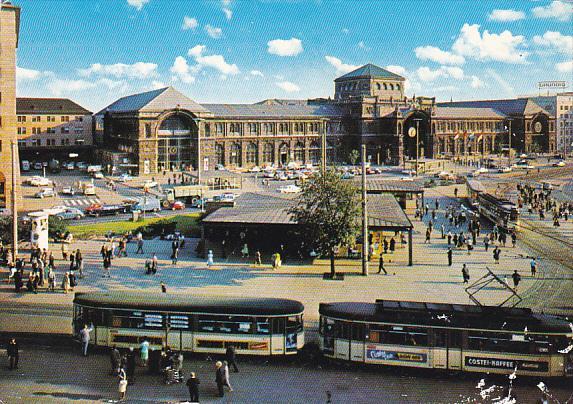 Germany Nuernberg Hauptbahnhof