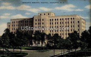 Charlotte Memorial Hospital in Charlotte, North Carolina