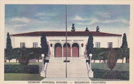 California Inglewood Veteran's Memorial Building