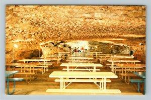 Mammoth Cave KY- Kentucky, Snow Ball Room, National Park, Chrome Postcard