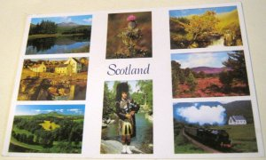 Scotland Multi-view S-46-H Exclusive Cards - Posted 1994