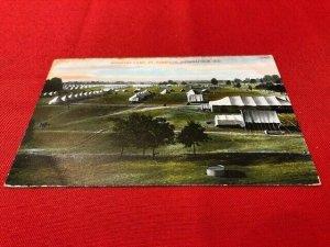 1908 FORT HARRISON Indianapolis INFANTRY CAMP, to Stuart Bowman,pub Bosselman