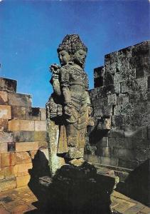 Indonesia Brahma Statue at Prambanan Temple near Yogyakarta