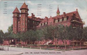 Saint Joseph Hospital Denver Colorado 1908