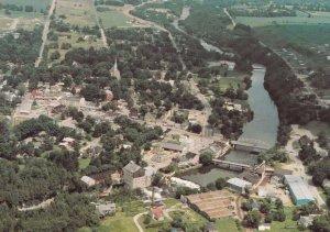 ELORA, Ontario,1950-60s; Aerial View of Elora