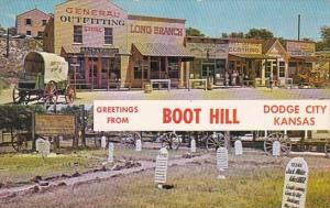 Greetings From Boot Hill Dodge City Kansas