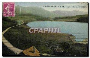 Old Postcard Auvergne Lac de Guery