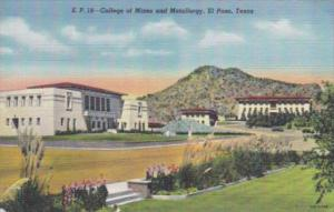 Texas El Paso College Of Mines and Metallurgy 1946 Curteich