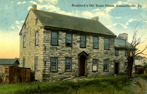 PA - Connellsville. Braddock's Old Stone House
