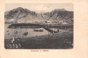 Yemen Aden Crescent port harbour boats bateaux