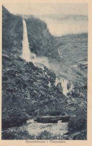Rjoandefossen i Flaamdalen , Norway , 00-10s #2