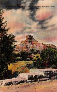 Texas Palo Duro Park Camel Hood Peak