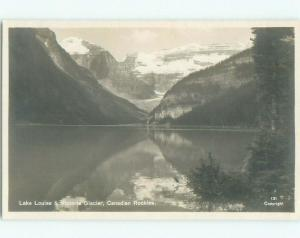 old rppc NICE VIEW Lake Louise Alberta AB W0877
