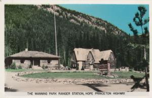 RP, HOPE PRINCETON HIGHWAY, B.C., Canada, 1920-40s; Manning Park Ranger Station