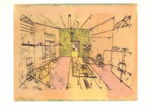 Paul Klee - Hounting Perspectives