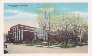 CENTRALIA, Illinois, 1900-1910´s; High School Buildings