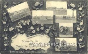 Camp de Coetquidan, France, Carte, Postcard  Camp de Coetquidan