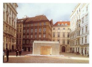 Postcard, Holocaust Memorial 1998-2000, Judenplatz, Vienna, Austria 76L