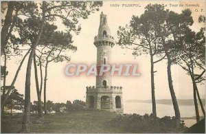 Old Postcard Paimpol tower Kerroch