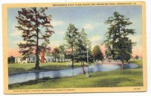 Broadmoor Golf Club House & Pool, Shreveport, Louisiana, 30-40