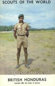 British Honduras Boy Scouts of America, Scouting Postcard, Post Cards, Copyri...