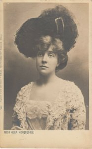 RP; Actress Miss Olca Nethersole, 1900-10s ; TUCK