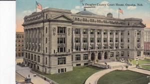 OMAHA, Nebraska, PU-1918; Douglas County Court House