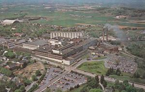 HERSHEY, Pennsylvania, 1940-1960's; Aerial View, Hershey Chocolate Corporation