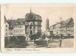 old rppc NICE VIEW Gottingen - Chottingen - Lower Saxony Germany i3186