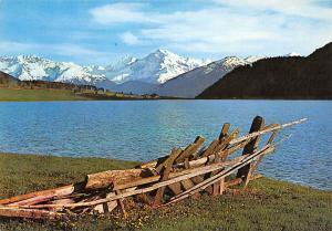 Italy Val Venosta Lago della Muta e Gruppo Ortles Lake Mountains Landscape