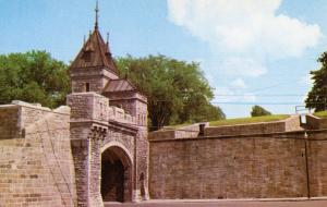Canada - Quebec, Quebec City. Kent Gate
