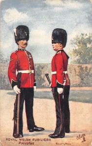 Privotes Royal Welsh Fusiliers Oilette