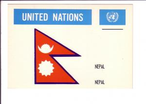 Nepal, Flag, United Nations