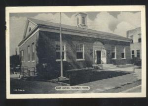 WAVERLY TENNESSEE UNITED STATES POST OFFICE BUILDING VINTAGE POSTCARD